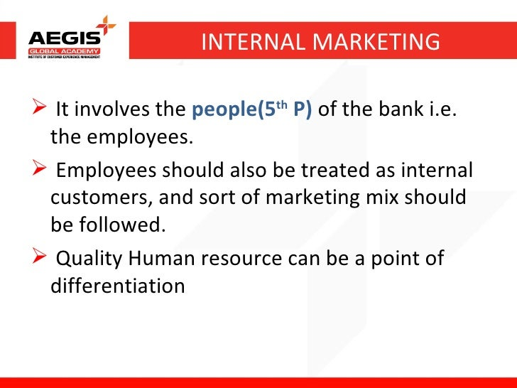 Service marketing in banking