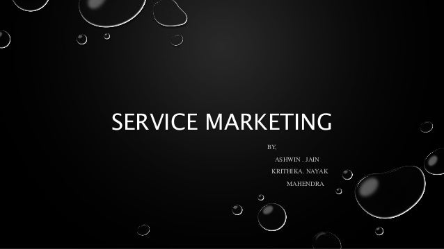Services Marketing Notes PPT  Online marketing mix ppt     Lokesh Raghani E mba