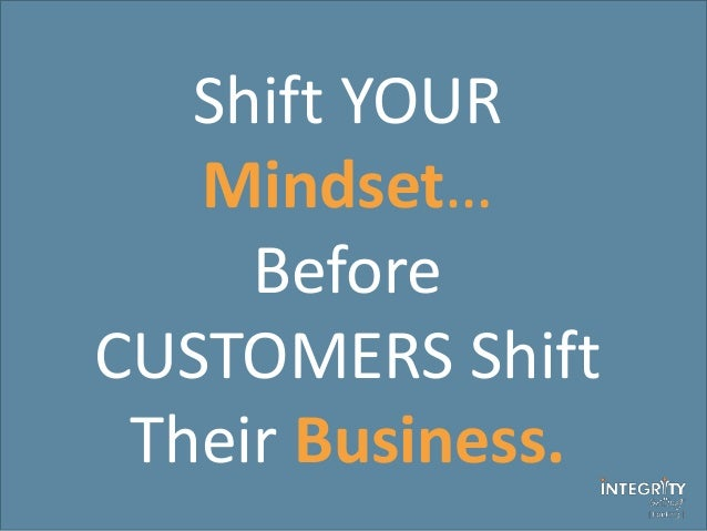 why good service isn u2019t good enough  shift your mindset