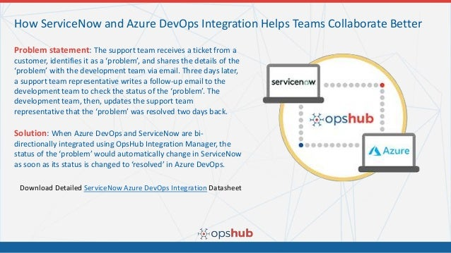How to Integrate ServiceNow with Azure DevOps