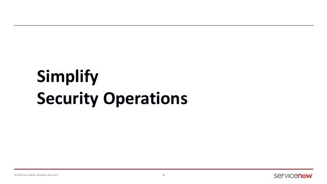 ServiceNow Webinar 12/1: Simplify Security Operations