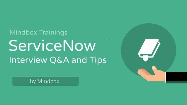 Service now online training certification | Mindbox Trainings Online