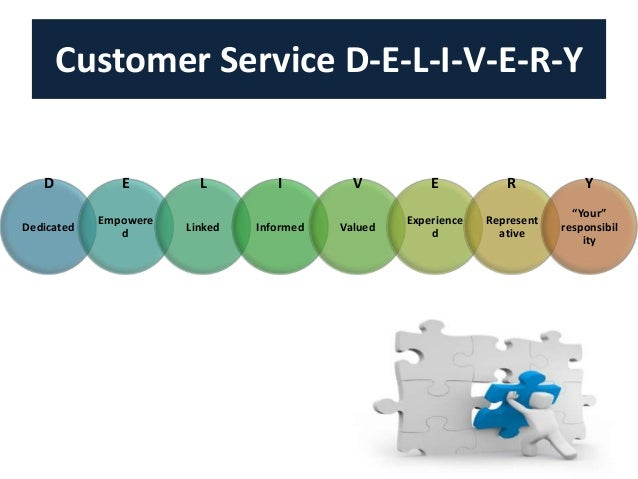 deliver a service to customers pdf