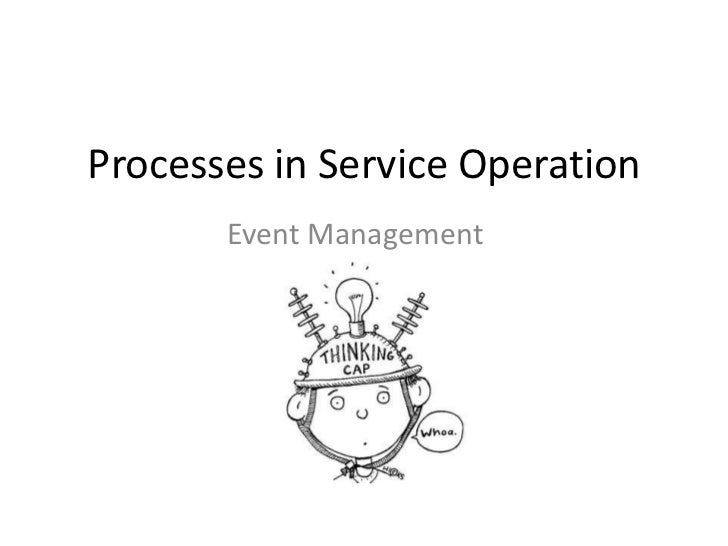 Processes in Service Operation       Event Management