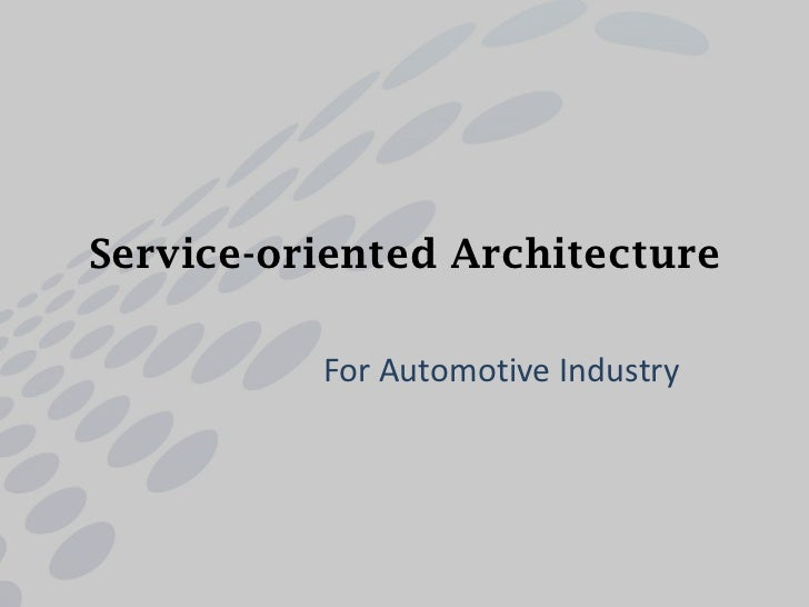 Understanding Service-Oriented Architecture