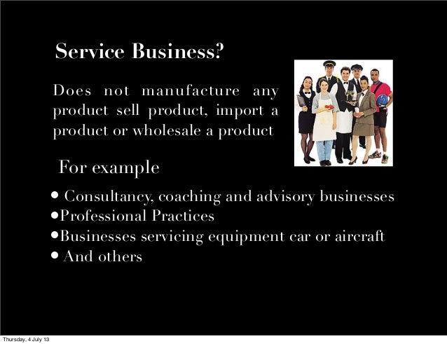 Value a Service Business Slide 2