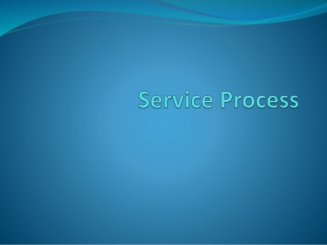 Meaning  Process in services refers to the actual procedures,  mechanisms, and flow of activities by which the  service is...