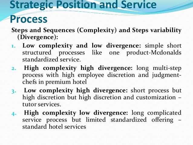 Education Services and Process  types