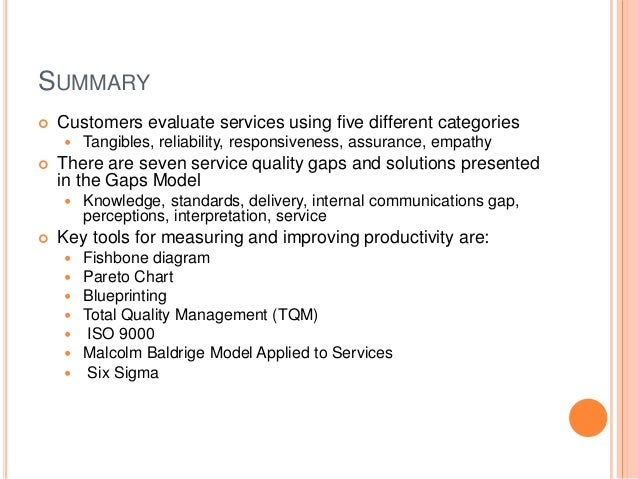 service quality in tqm