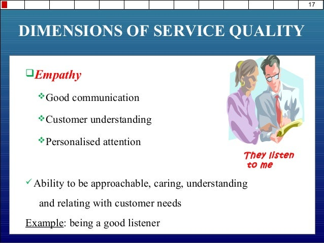 dimension and service quality The relations among dimensions of service quality, satisfaction  loyalty, and  willingness to pay more: case of gsm operators service at northern-iraq.