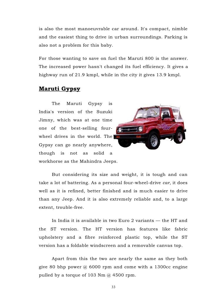 Service quality and consumer satisfaction for maruti service