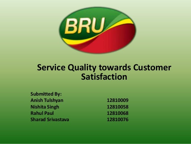 service quality and student satisfaction on canteen services The study aimed to determine the level of students' satisfaction towards the service satisfaction towards the service quality services student satisfaction.