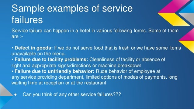 Service-level agreement