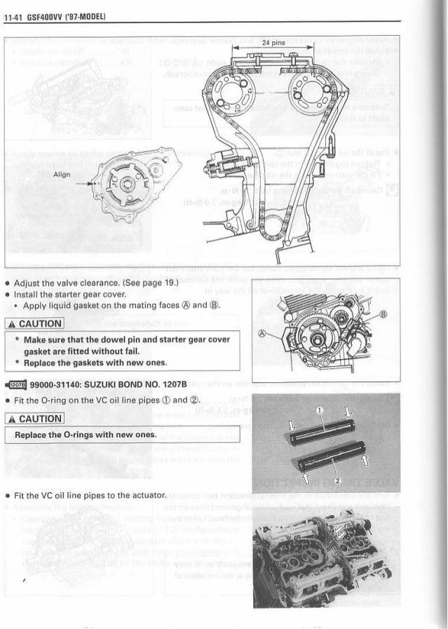 manual de reparaci u00f3n suzuki gsf bandit vv  u0026 39 97