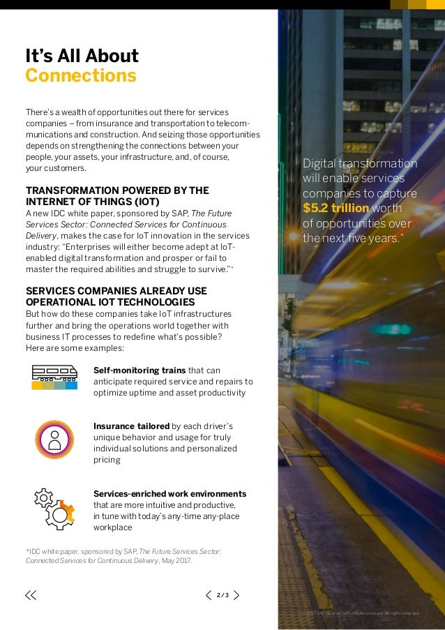 The Future of Services Sector: Continuous Delivery of Competitive Advantage Slide 2