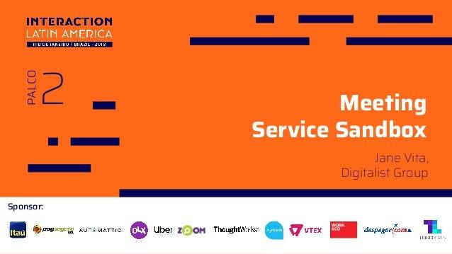 Sponsor: 2 PALCO Meeting Service Sandbox Jane Vita, Digitalist Group