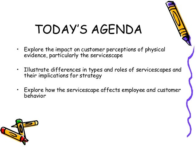 the impact of servicescape in a 2013-10-15 servicescape which is rich in such physical cues therefore helps in both creating service expectations and assessing  is known to have tremendous impact on.