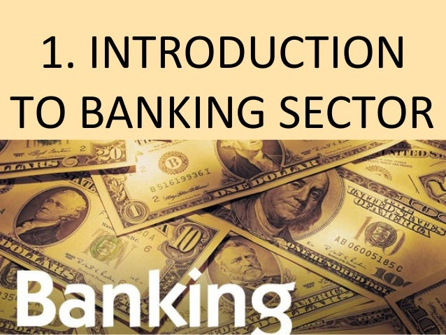 introduction to banking sector