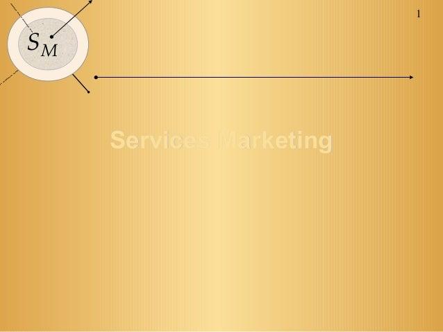 1SM     Services Marketing