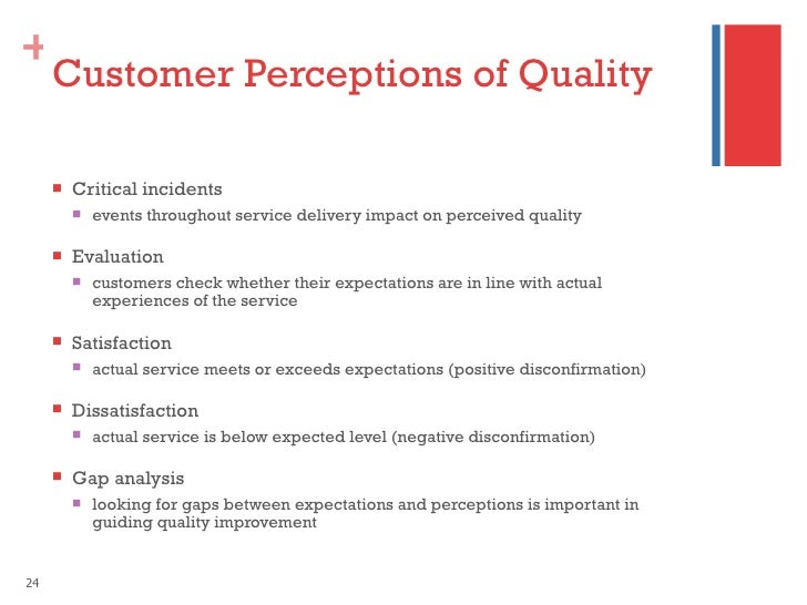 customer's perception of service quality of Pdf | abstract amid intense competition and the dynamic business environment,  surviving in the market has become a key challenge for many.