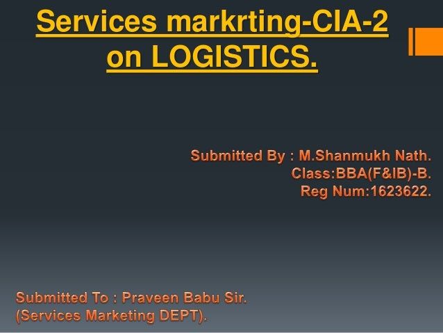 """marketing logistics services The marketing & logistics management program is ideal for those who dream of  owning  4 """"p""""s of marketing customer service emarketing global competition."""