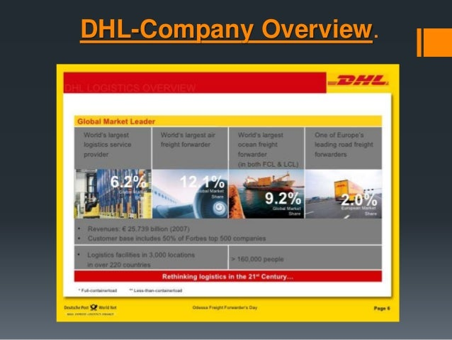 dhl marketing mix View darren porteous' profile on linkedin business development & marketing dhl supply chain director of operations at dhl supply chain new zealand.