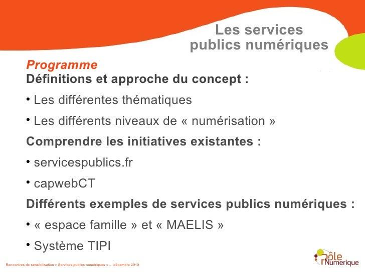 Rencontres des operateurs publics de services numeriques