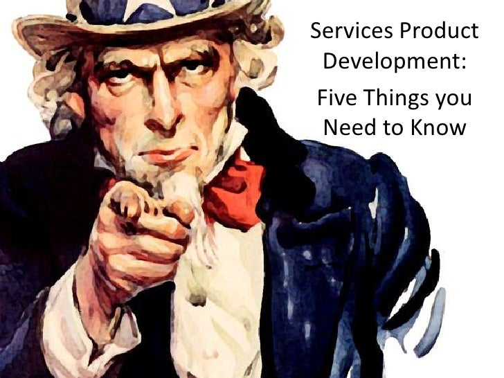 Services Product Development:<br />Five Things you Need to Know<br />