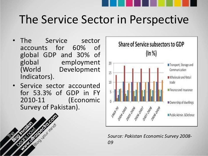 Services sector: Realising Pakistan's export potential