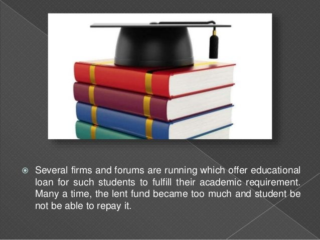  Study Loans consolidation is, when debtor takings out a new loan plan to wage off some slighter student loans. In its pl...