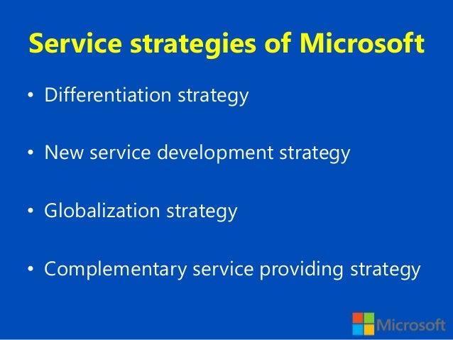 microsoft strategies