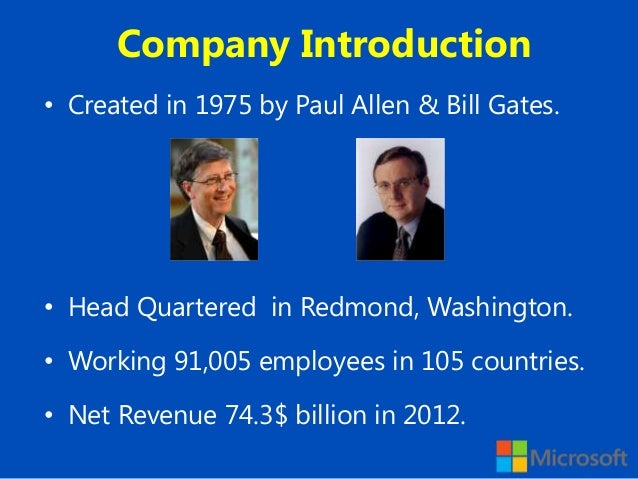introduction about bill gate Bill gates needed to write a game to ship with the first-ever pc, and it didn't turn out great.
