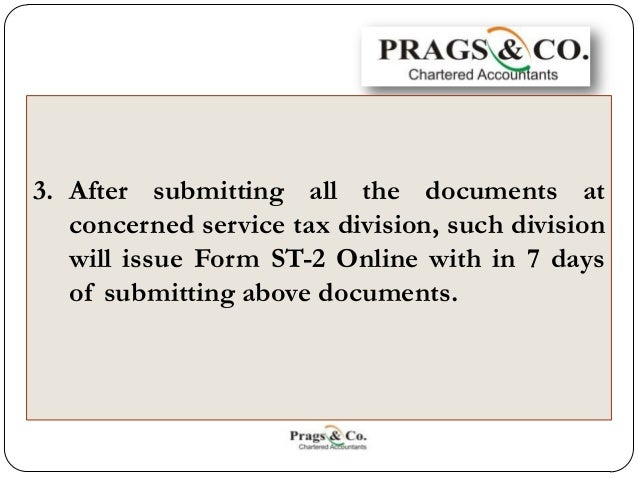 Service Tax Registration Documents Required By Huf