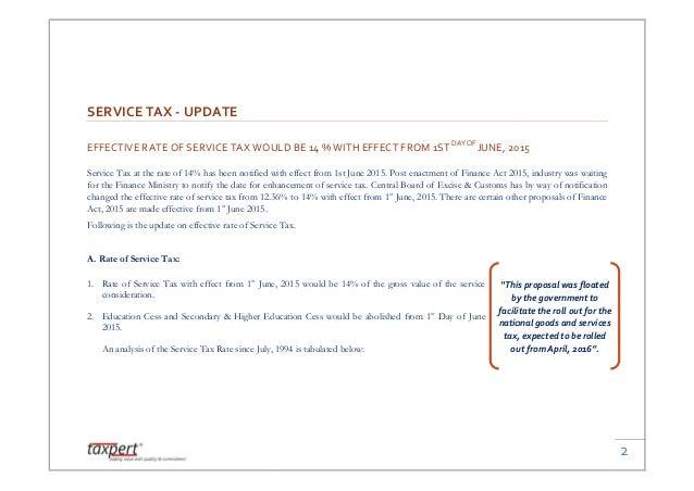 Cenvat Credit Rules 2015 Pdf