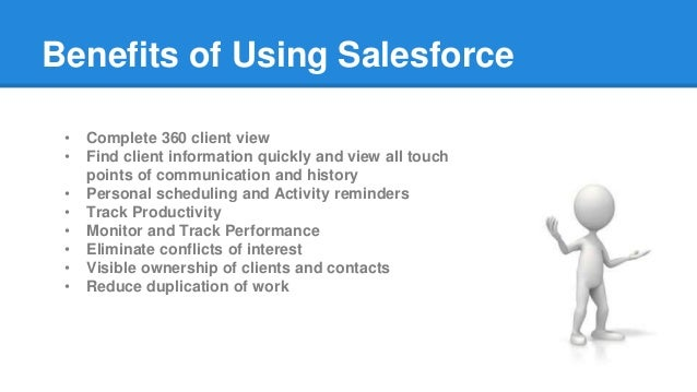 servicetracker and salesforce presentation