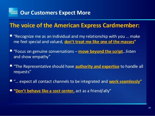 american express customer support