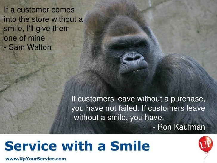 Image result for quote service with a smile
