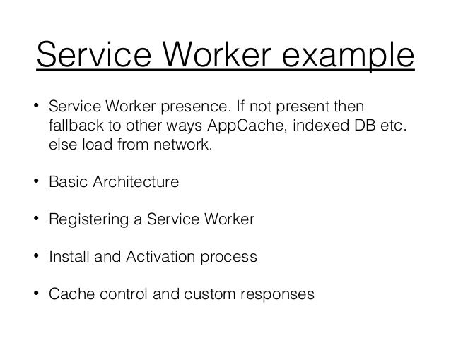 Caching with service workers, the easy way mobiforge.