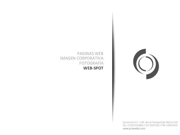 WebSpot Slide 2