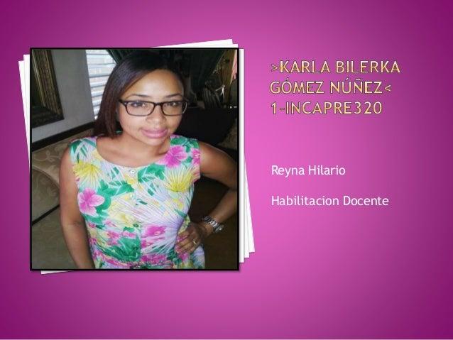 Reyna Hilario Habilitacion Docente