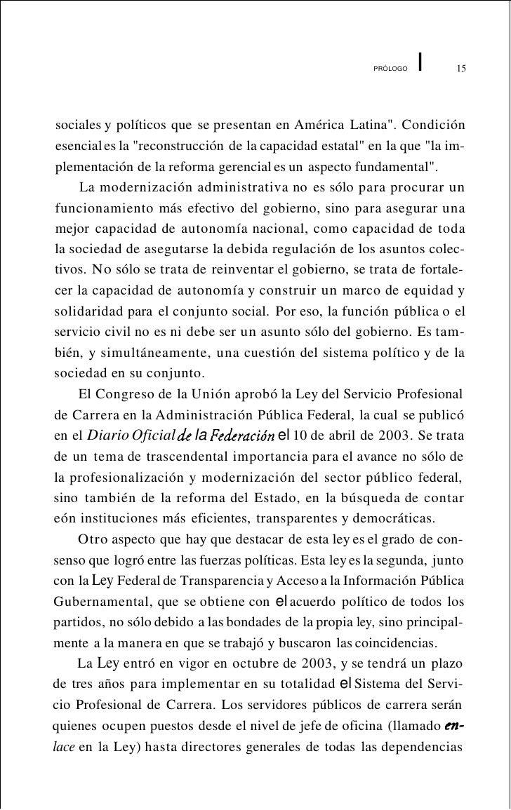 I EL DESTINATARIO DE LA LEY:                          EL SERVIDOR PÚBLICO Y SUS CARACTERfsTICAS                           ...