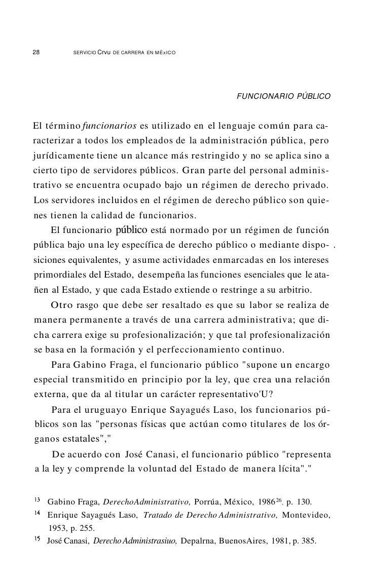 32         SERVICIO   Crvu DE CARRERA   EN M~XICD     Articulo 6. Para los efectosdel artículo 29 de la Constitución Polít...