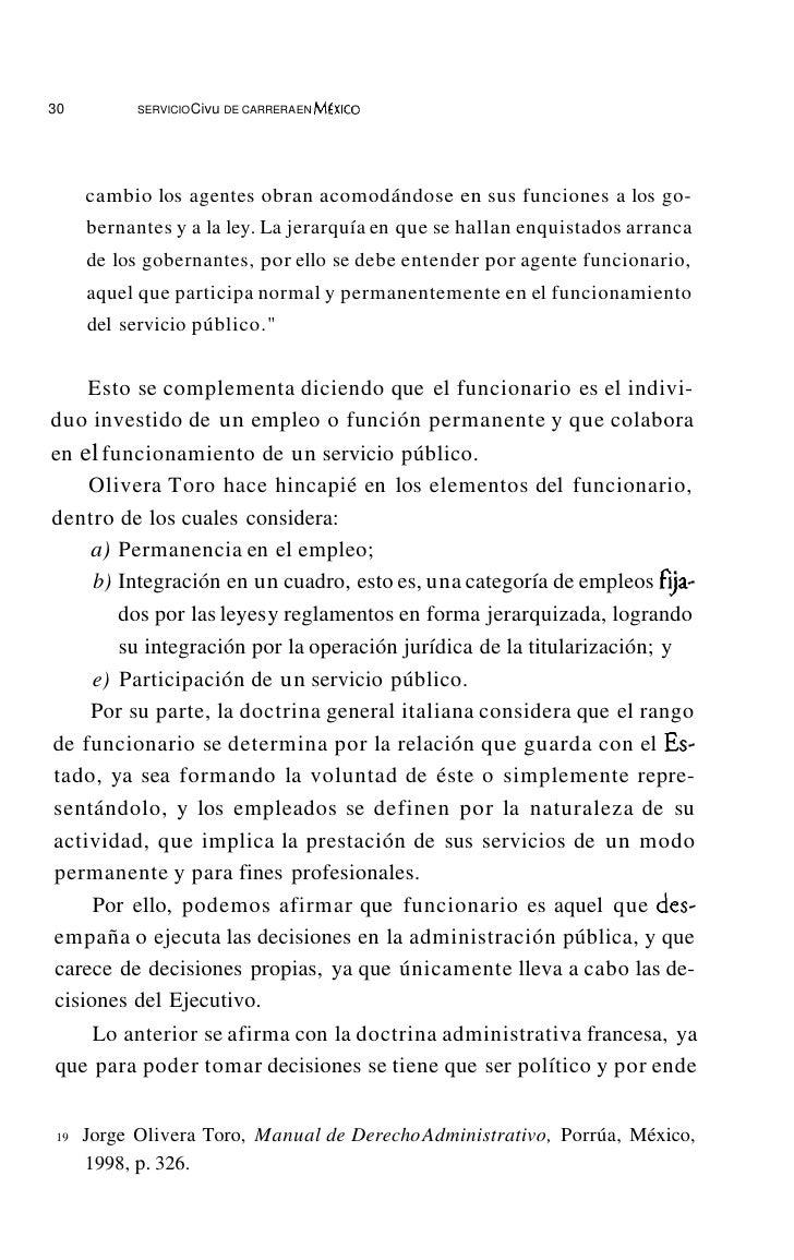 34          SERVICIO CiVIl. DE CARRERA EN MÉxICOde hacer cumplir sus decisiones, las cuales tienen que estar encami-nadas ...