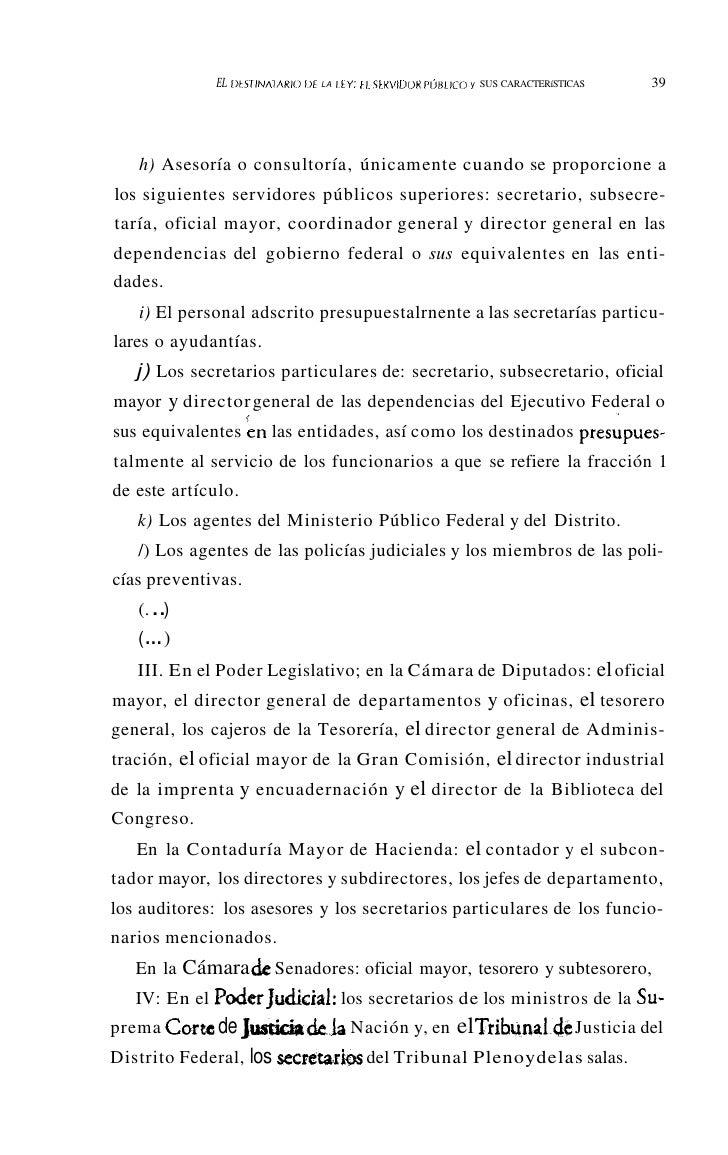 LA ÉTICA DEL SERVIDOR PÚBLICO                                             Eduardo SánchezMejorada*                        ...