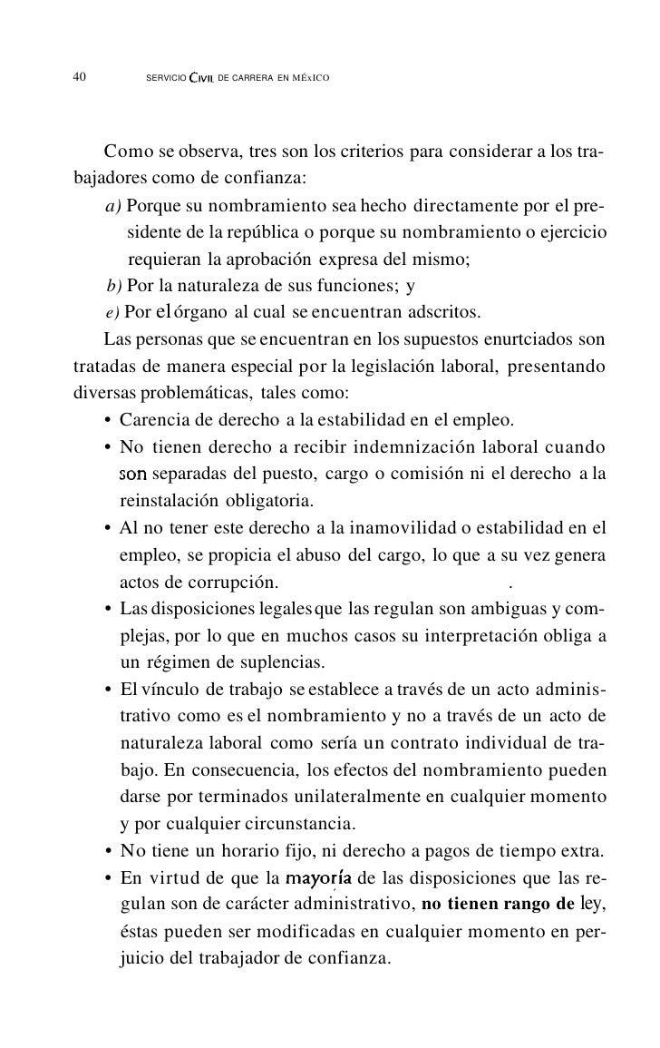 44       SERVICIO CIVIL DE CARRERA EN   MÉXlcnde quien juzga? Éste bien puede ser el problema fundamental de laética.    A...