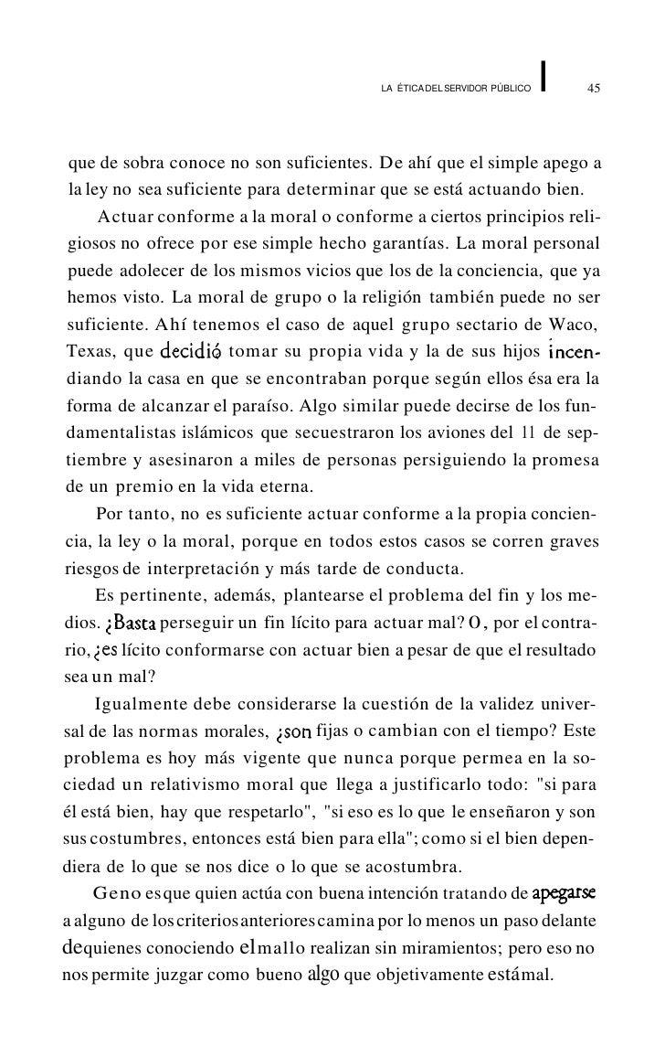 LA   tria DEL SERVIDOR PÚBLICO   I   49     • Vocación para el servicio público     • Competencia profesional para el pues...