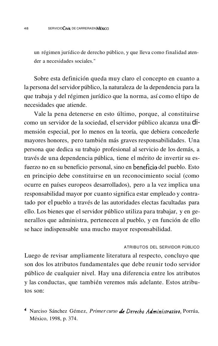 52       SERVICIO   Crvu DE CARRERA EN MfxlCO                                        LEY ~L SERVICIO PROFESIONAL DE CARRER...