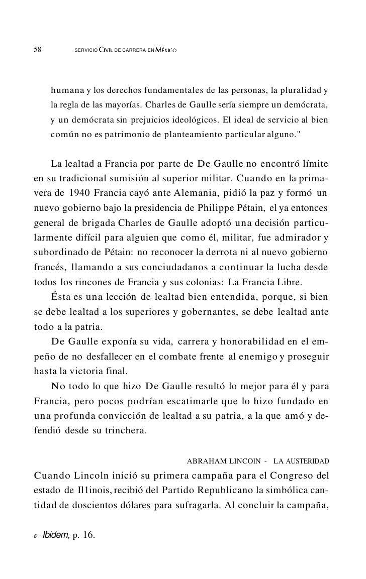 62           SERVICIOCiVIL DE CARRERA EN M~xlcO    Más recientemente, en el Promap -elaborado durante la admi-nistración d...