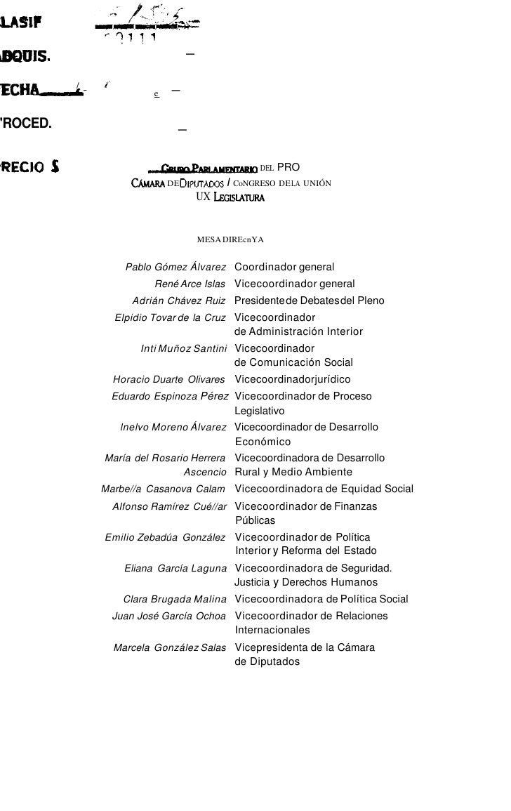 Profesionalización de la administración pública   Javier Salinas Narudez                                    189AnexoDecret...