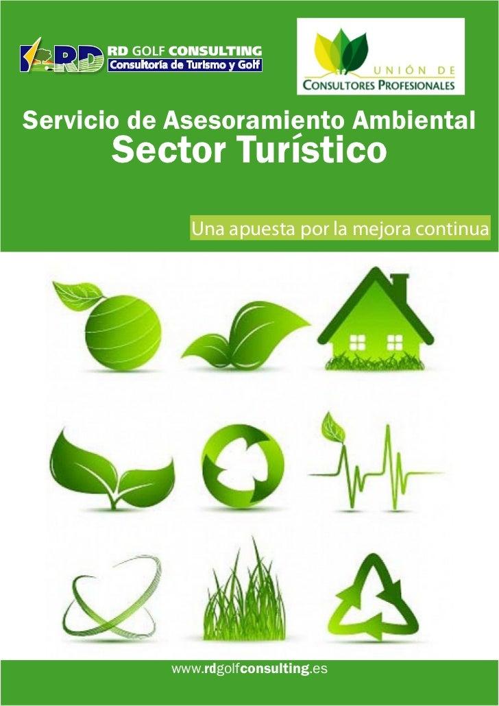 Servicio de Asesoramiento Ambiental      Sector Turístico             Una apuesta por la mejora continua           www.rdg...